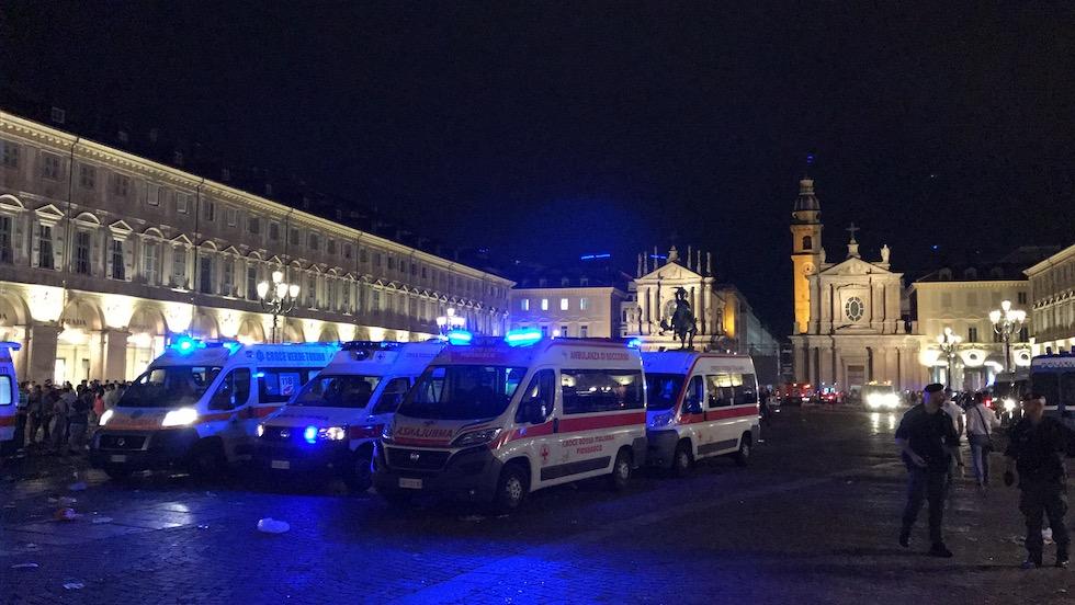 Torino, panico durante la finale di Champions: 1527 i feriti