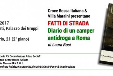 World DrugDay, Croce Rossa e Fondazione Villa Maraini presentano il libro sul camper antidroga