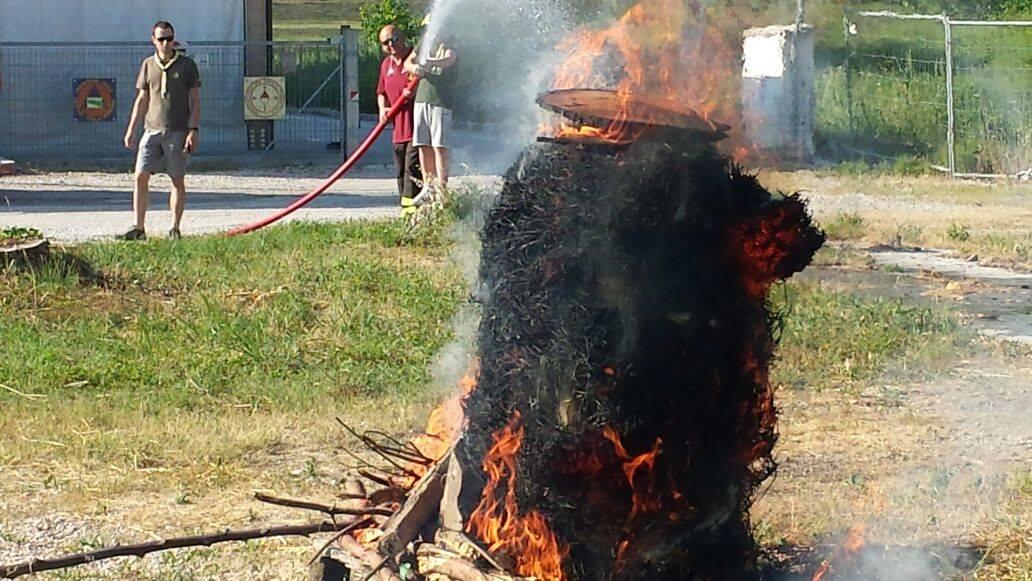 Fiammeblu a Bondeno per i 14 anni dei Vigili del Fuoco Volontari | Emergency Live 12