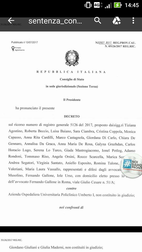Bloccato il Concorso pubblico del Policlinico Umberto I a Roma a due ore dallo svolgimento della prova scritta | Emergency Live 1