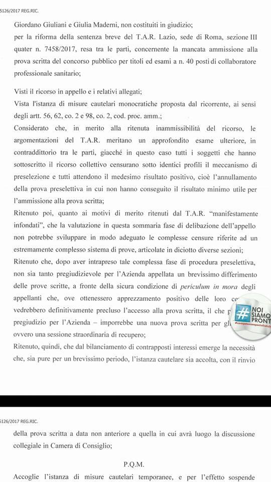 Bloccato il Concorso pubblico del Policlinico Umberto I a Roma a due ore dallo svolgimento della prova scritta | Emergency Live 2