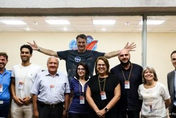 Anche la bandiera della Croce Rossa Italiana nello spazio con Paolo Nespoli