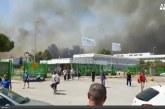 Incendi, anche in Molise paura per le fiamme. A Termoli brucia lo stabilimento FCA