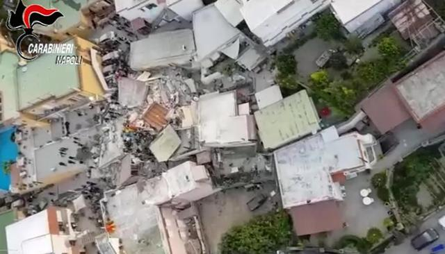 Terremoto Ischia: l'assistenza alla popolazione