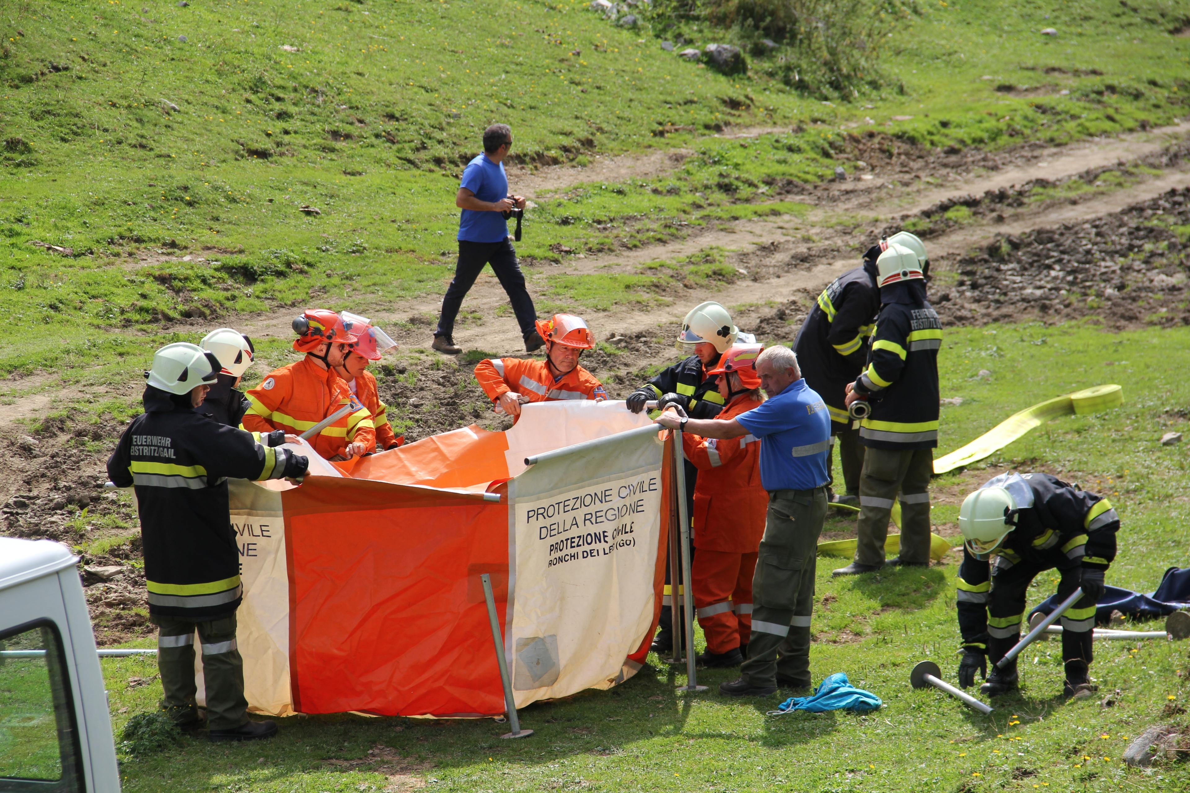 REPORTAGE - 40 anni di amicizia transfrontaliera: i Pompieri Volontari di Ugovizza e i Freiwillige Feuerwehr di Vordeberg | Emergency Live 4