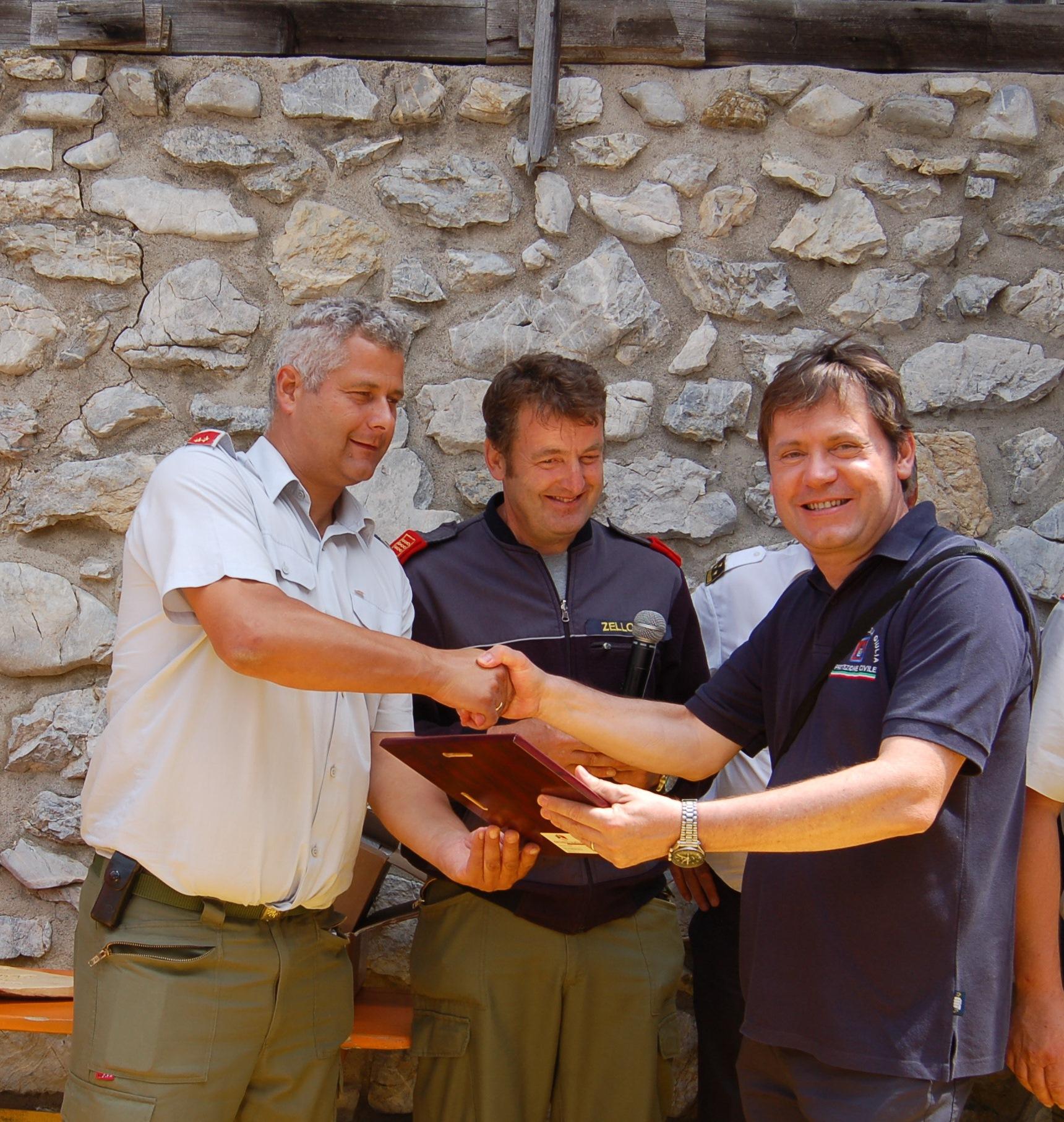REPORTAGE - 40 anni di amicizia transfrontaliera: i Pompieri Volontari di Ugovizza e i Freiwillige Feuerwehr di Vordeberg | Emergency Live 9