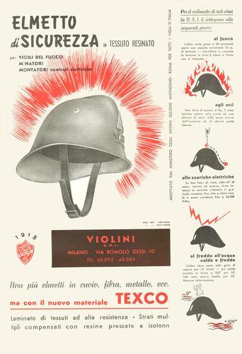 pubblicita anni 50 violini