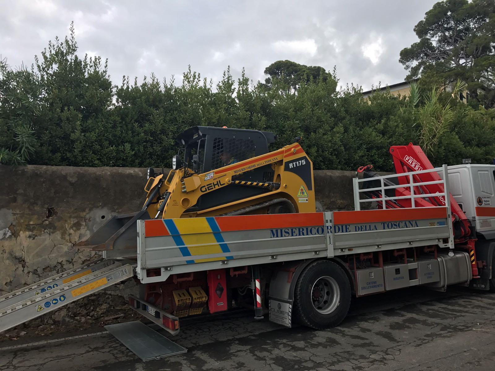 Tragedia di Livorno, la situazione operativa dell'emergenza e le foto dallo scenario di Montenero | Emergency Live 3