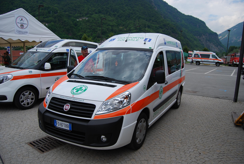 28: il mezzo n. 49 è un Fiat Scudo, destinato ai servizi sociali ed al trasporto solidale – foto Alberto Di Grazia