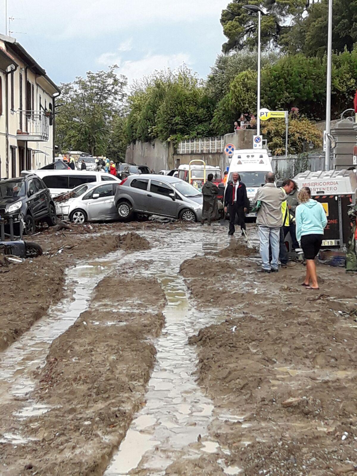 Tragedia di Livorno, la situazione operativa dell'emergenza e le foto dallo scenario di Montenero | Emergency Live 10