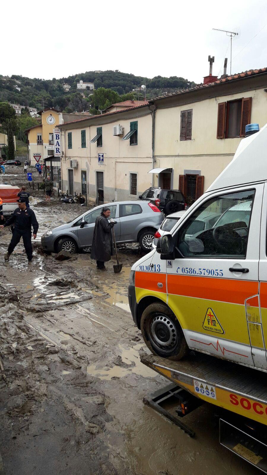 Tragedia di Livorno, la situazione operativa dell'emergenza e le foto dallo scenario di Montenero | Emergency Live 13