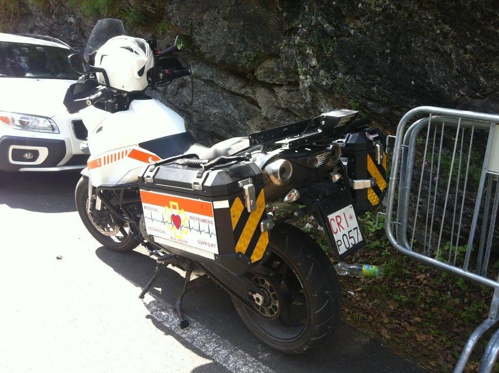 Moto medica e moto infermieristica: l'alternativa italiana esiste ed è studiata per i nostri territori | Emergency Live 1