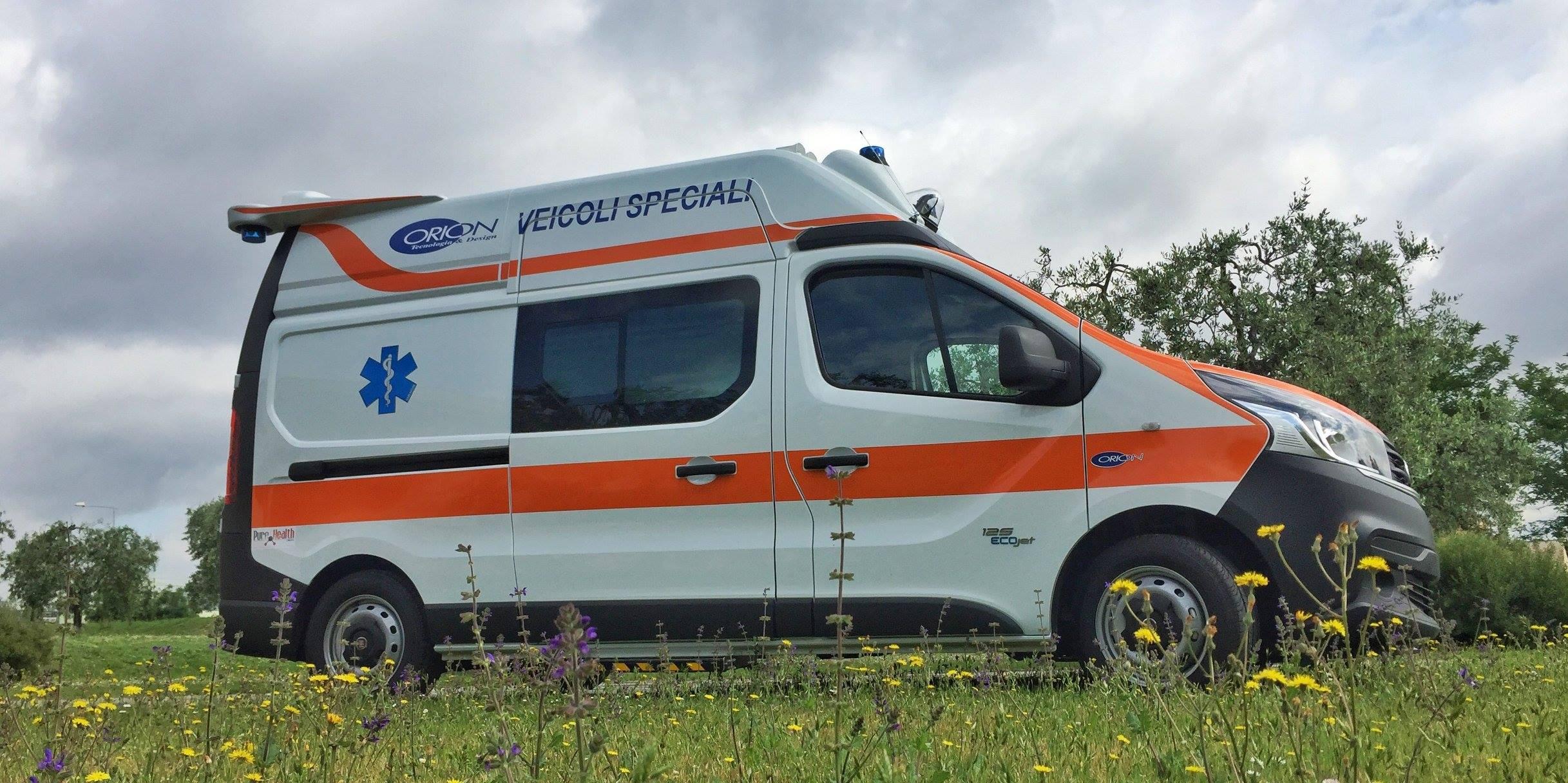 ORION a REAS con il suo marchio di fabbrica: la qualità. L'ambulanza su misura è sempre più smart | Emergency Live 4