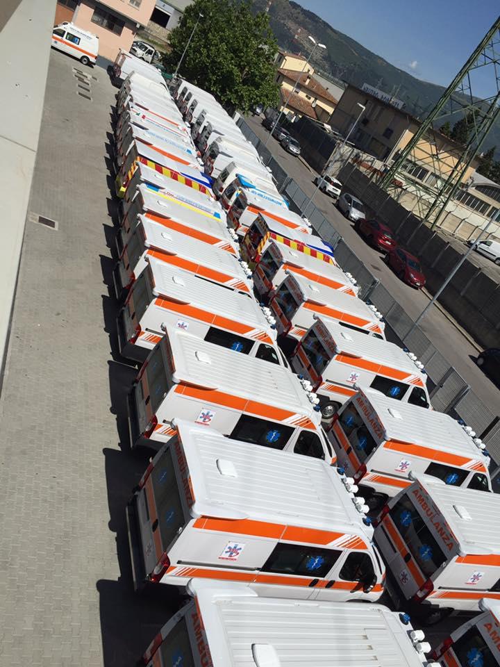 ORION a REAS con il suo marchio di fabbrica: la qualità. L'ambulanza su misura è sempre più smart | Emergency Live 5