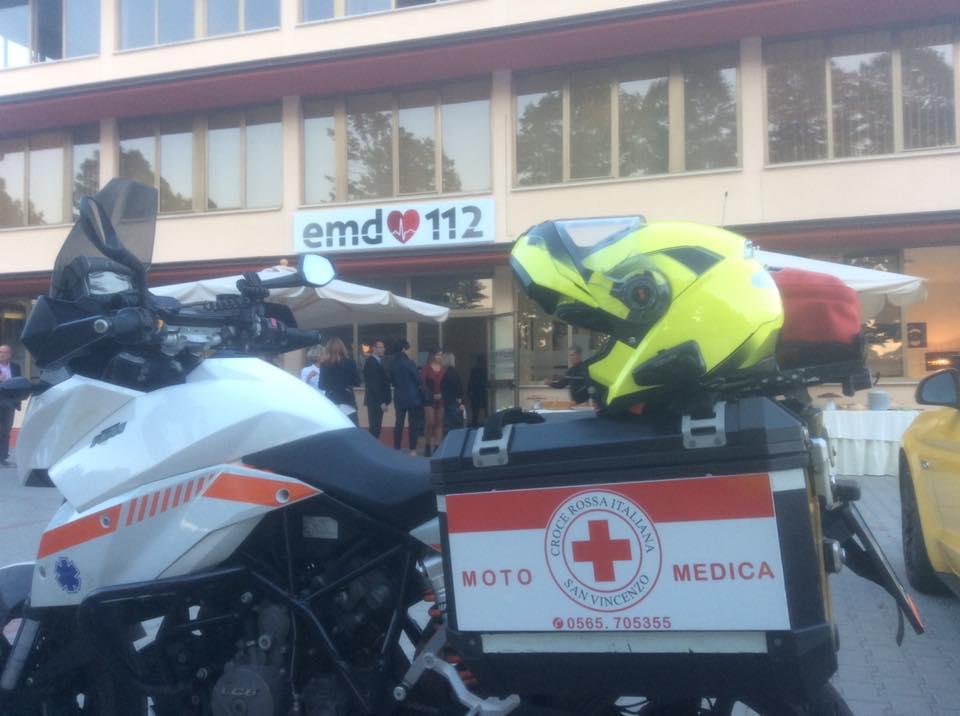Moto medica e moto infermieristica: l'alternativa italiana esiste ed è studiata per i nostri territori | Emergency Live 3