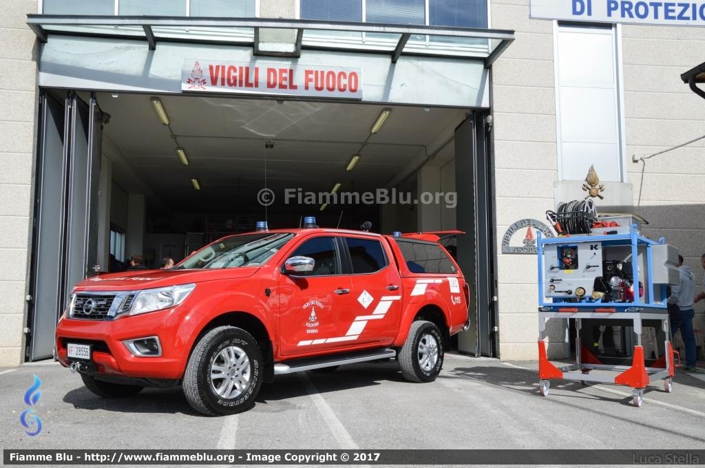 Il distaccamento dei Vigili del Fuoco di Bondeno inaugura il nuovo pick-up