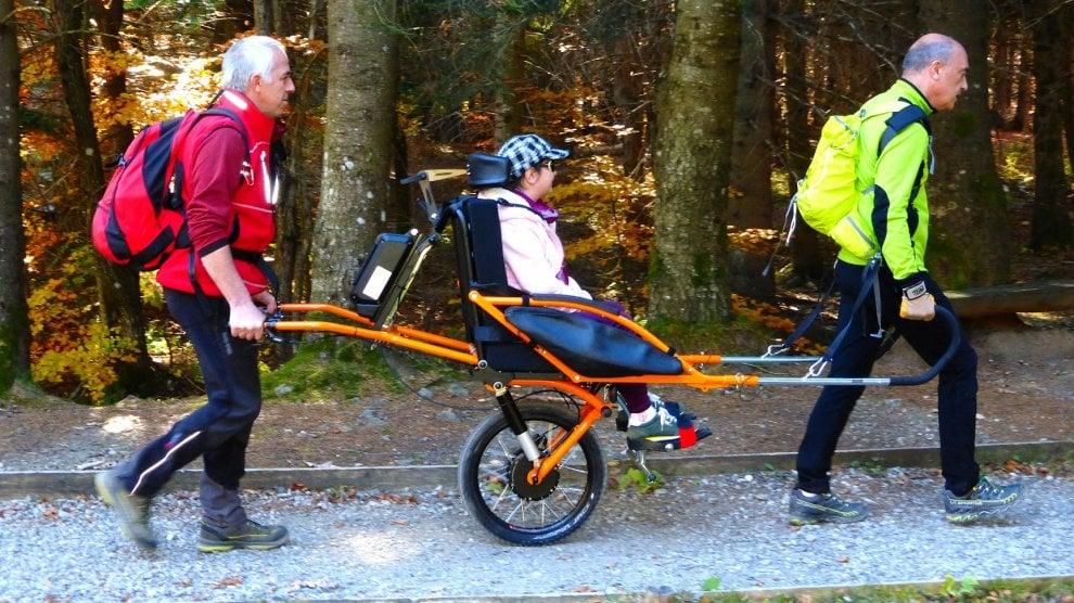 Disabilità e trasporto in montagna: un'idea francese arriva in Italia