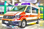 Ambulanze, com'è il nuovo Volkswagen Crafter visto in Italia?