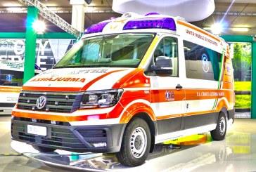 Ambulanze, com'è il nuovo Volkswagen Crafter visto in Italia?