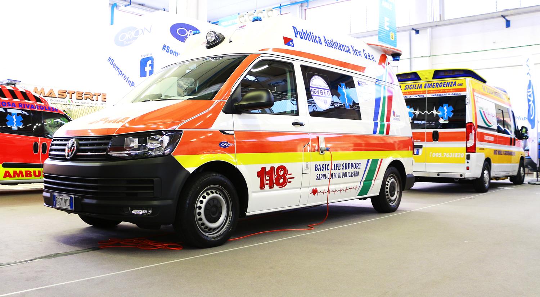 La salute dei soccorritori? La tutela il Pure Health. Viaggio nelle nanoparticelle brevettate da Orion per sanificare l'ambulanza | Emergency Live 3