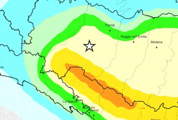 Doppio evento sismico in Emilia-Romagna: il report dell'INGV