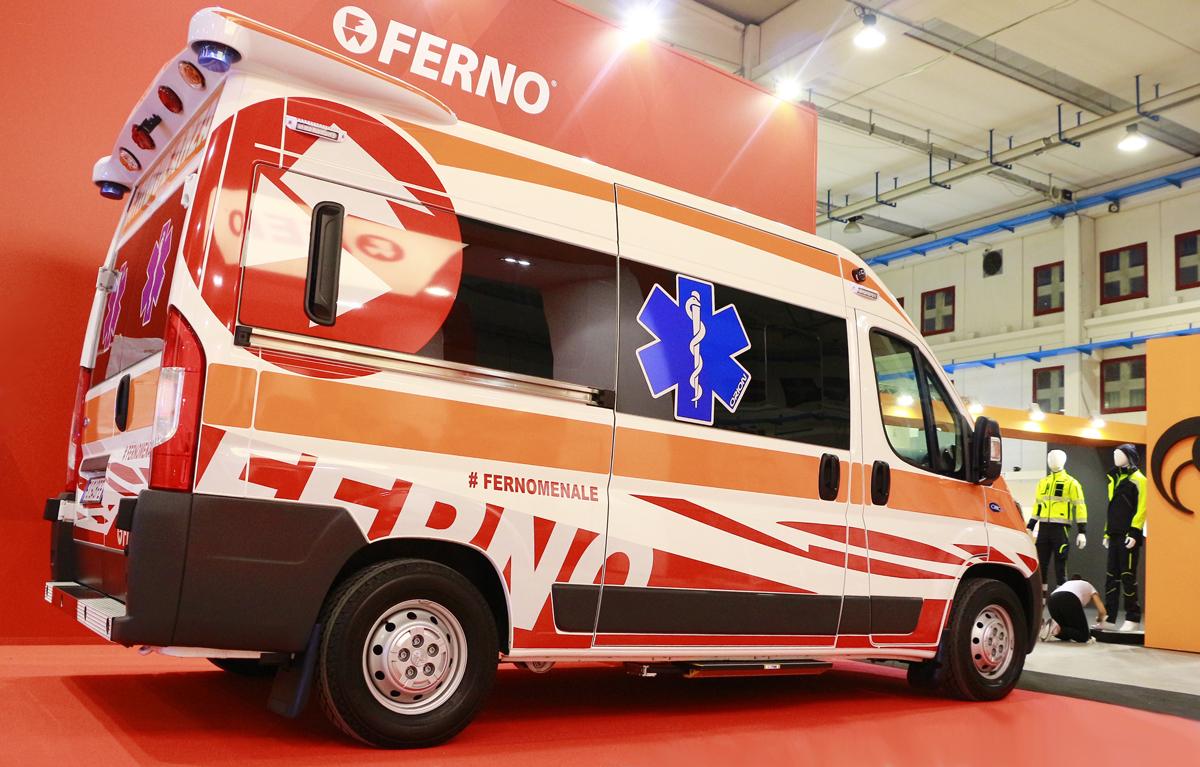 Ferno Italia presenta iNTRAXX: Come si risolvono i principali problemi di spazio e configurazione in una ambulanza? | Emergency Live 6