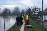 Alluvione dell'Enza, strade chiuse e sfollati fra Parma e Reggio Emilia