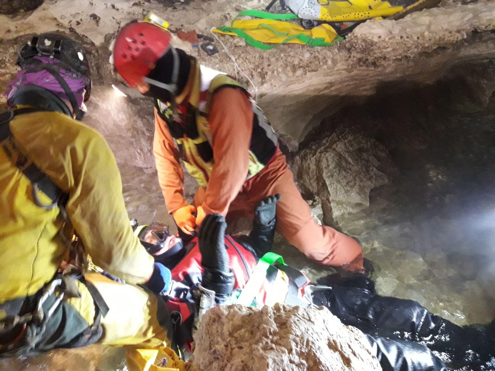 Esercitazione nazionale speleosub CNSAS ospitata in Friuli | Emergency Live 4