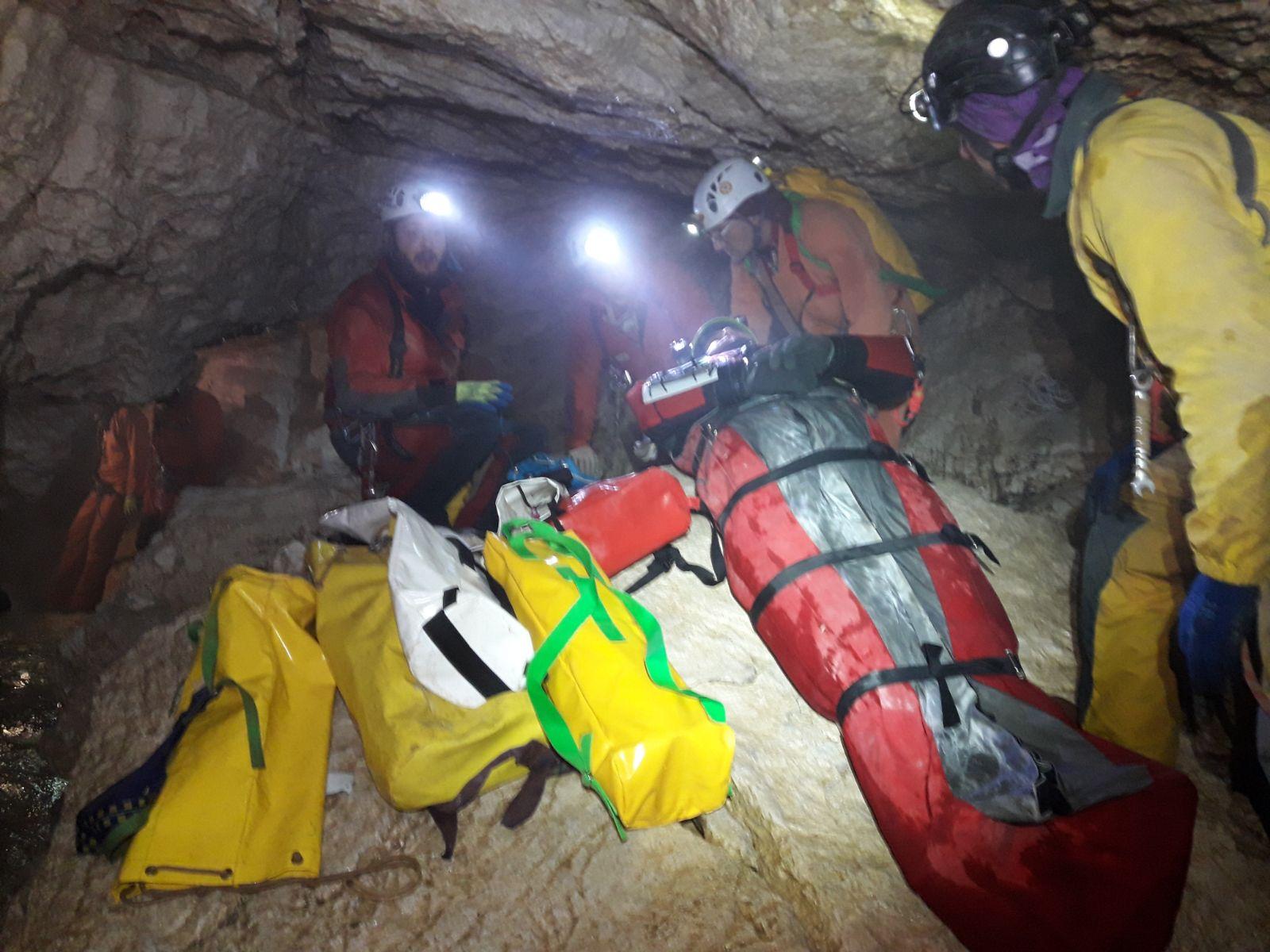 Esercitazione nazionale speleosub CNSAS ospitata in Friuli | Emergency Live 7