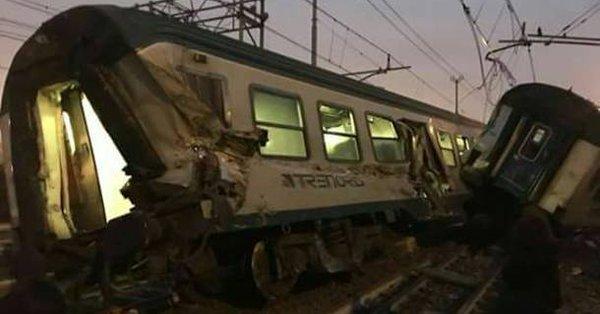 Incidente ferroviario a Pioltello, numero vittime da confermare, finite le operazioni di recupero | Emergency Live 1