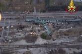 Incidente ferroviario di Pioltello, alcuni pareri sul deragliamento e sulla velocità dello schianto fanno pensare ad un problema di linea