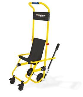 Sedia da evacuazione emergency live for Fisico sedia a rotelle
