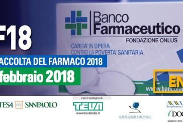 Giornata di Raccolta del Farmaco, sabato 10 febbraio 2018