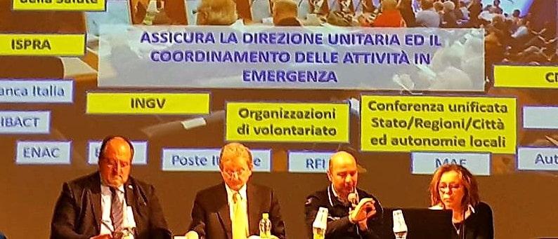 Mazzocca e i resposabili Anci dell'Abruzzo