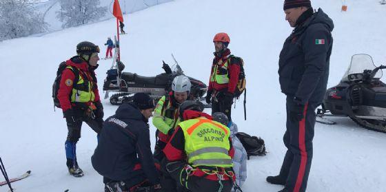 pordenone pian cavallo dae soccorso protezione civile piste da sci