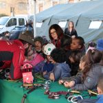 Alunni della Val d'Aosta a scuola di Protezione civile dagli Alpini ANA   Emergency Live 7