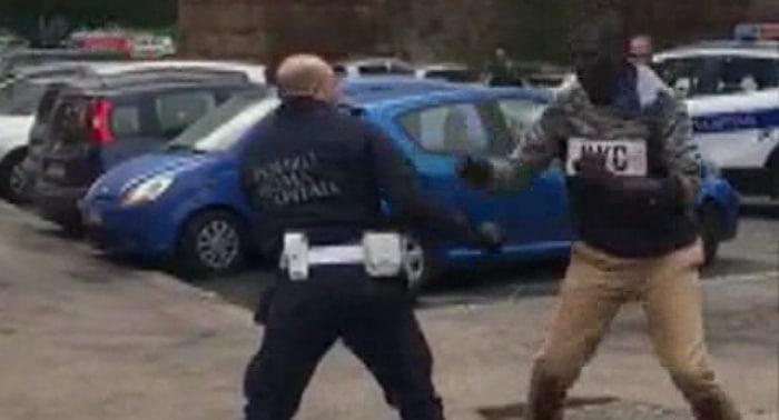 lite-strada-polizia-roma