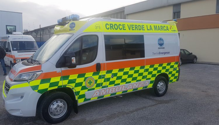 Ambulanza CLASS by ORION per la Croce Verde