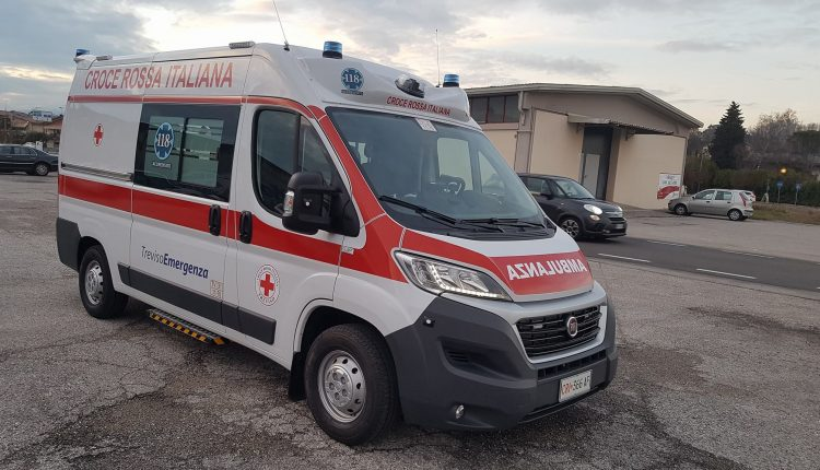 ambulanza CLASS by ORION per la Croce Rossa di Treviso