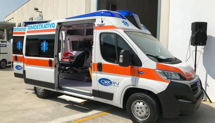 CLASS diventa ORION, l'alto livello delle ambulanze venete cresce ancora di più | Emergency Live 9