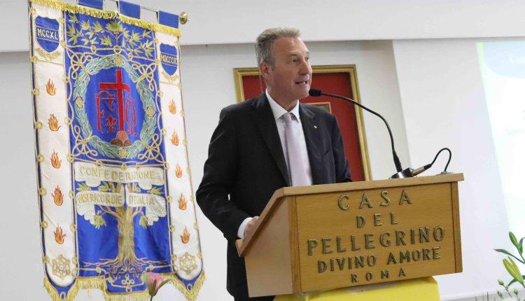 Il presidente delle Misericordie d'Italia Trucchi