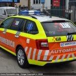 Automediche in Romagna, le prime Skoda Octavia in esclusiva con Fiammeblu   Emergency Live 12