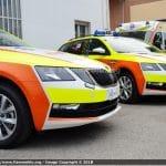 Automediche in Romagna, le prime Skoda Octavia in esclusiva con Fiammeblu   Emergency Live 13