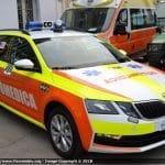 Automediche in Romagna, le prime Skoda Octavia in esclusiva con Fiammeblu   Emergency Live 14