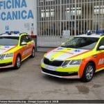 Automediche in Romagna, le prime Skoda Octavia in esclusiva con Fiammeblu   Emergency Live 15