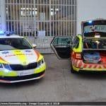 Automediche in Romagna, le prime Skoda Octavia in esclusiva con Fiammeblu   Emergency Live 18