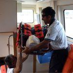 Esercitazione congiunta tra Guardia Costiera Ravenna e 118   Emergency Live 4