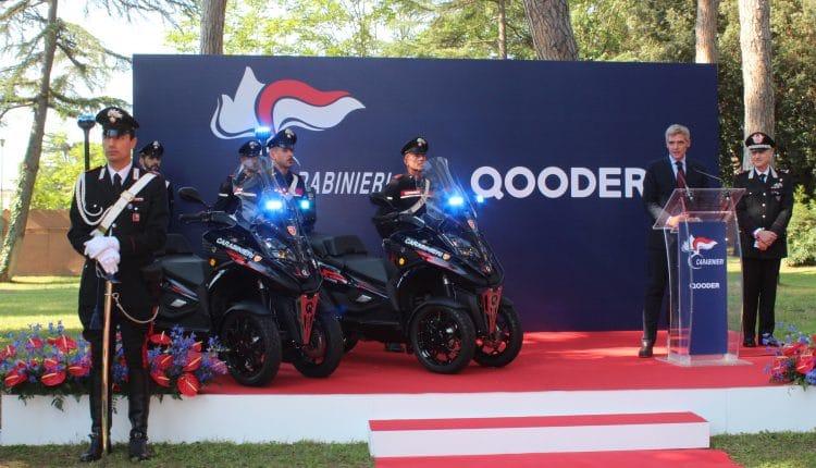 Cerimonia di presentazione di Qooder all'Arma dei Carabinieri presso Casale Renzi-1