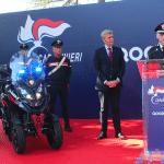 Consegna del veicolo Qooder di Quadro Vehicles all'arma dei Carabinieri   Emergency Live 7