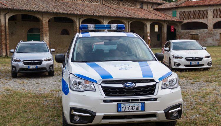 Subaru Day Polizia Locale
